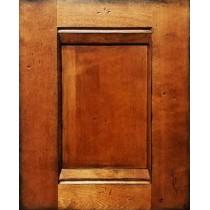 --Sample Door Antique Brown Kitchen Cabinets