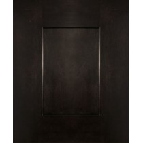 --Sample Door Ash Black Shaker Kitchen Cabinets