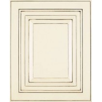 --Sample Door Truffle White Kitchen Cabinets