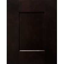 --Sample Door Espresso Shaker Kitchen Cabinets