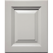 --Sample Door Frosted Grey Kitchen Cabinets