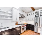 How can White Kitchen Cabinets Add Elegance to Your Kitchen Space?