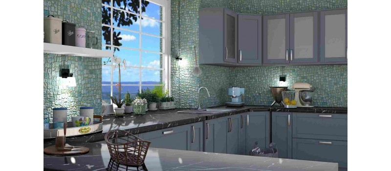 The Alluring Beauty of Gray Kitchen Cabinets for a Contemporary Home