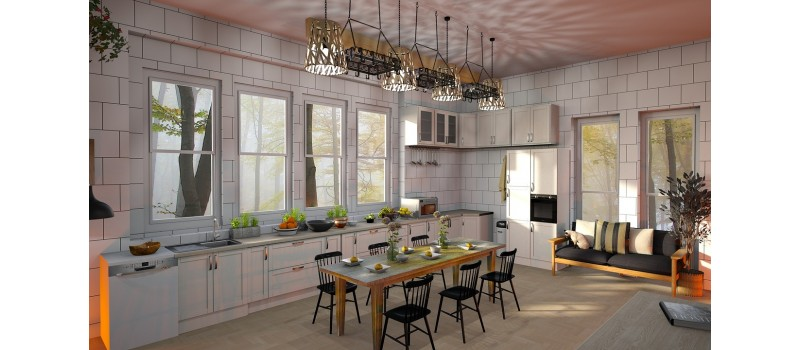The Benefits of Installing RTA Kitchen Cabinets