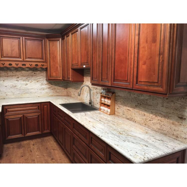 Kitchen Cabinets Wholesale Michigan: Cider Brown Kitchen Cabinets