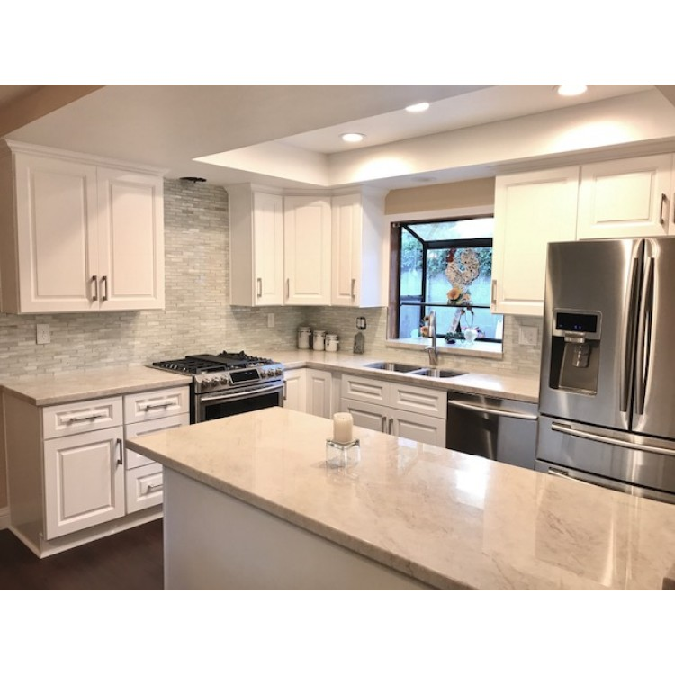 Dakota White Rta Kitchen Cabinets: Classic White Kitchen Cabinets