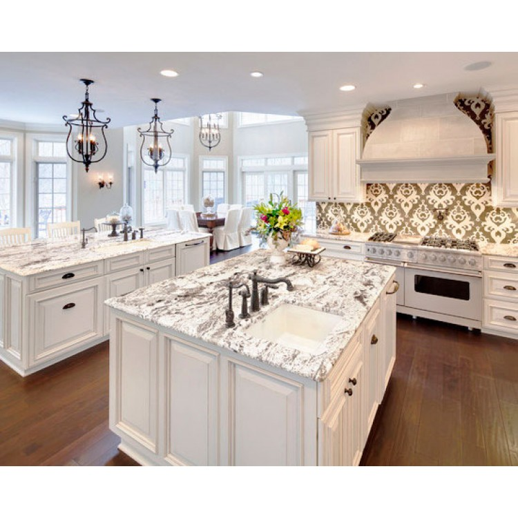 Colonial white cabinets white shaker cabinets white for Colonial kitchen cabinet ideas