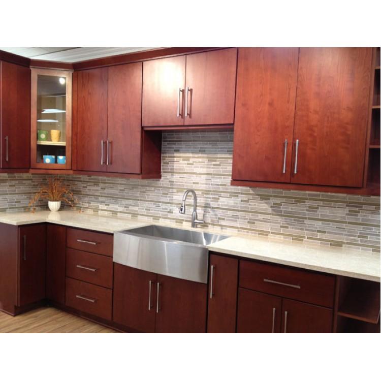 Teak Kitchen Cabinet Doors: Frameless Kitchen