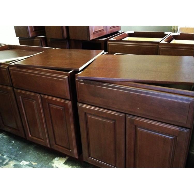 Hazelnut Kitchen: Black Kitchen Cabinets