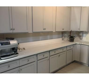 Olive Gray Light Kitchen Cabinets