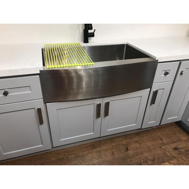 Olive Gray Light Gray Kitchen Cabinets - Kitchen Cabinets - RTA
