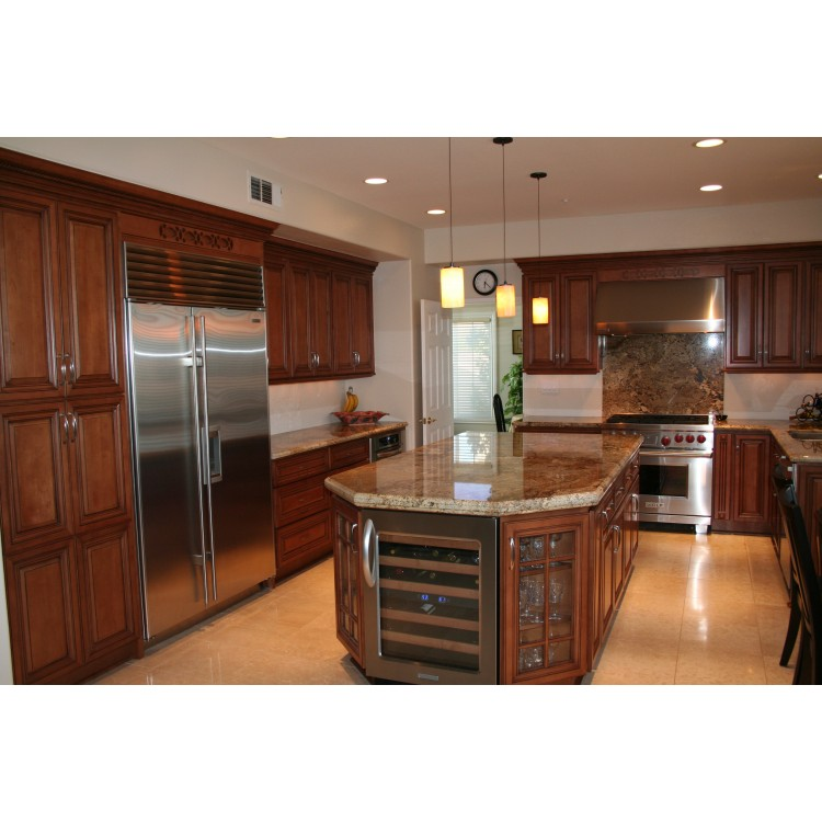 Opulent Bronze Antique Cabinets Maple Kitchen Cabinets