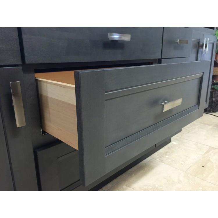 Phantom Gray Shaker Gray Cabinets RTA Cabinets Pre