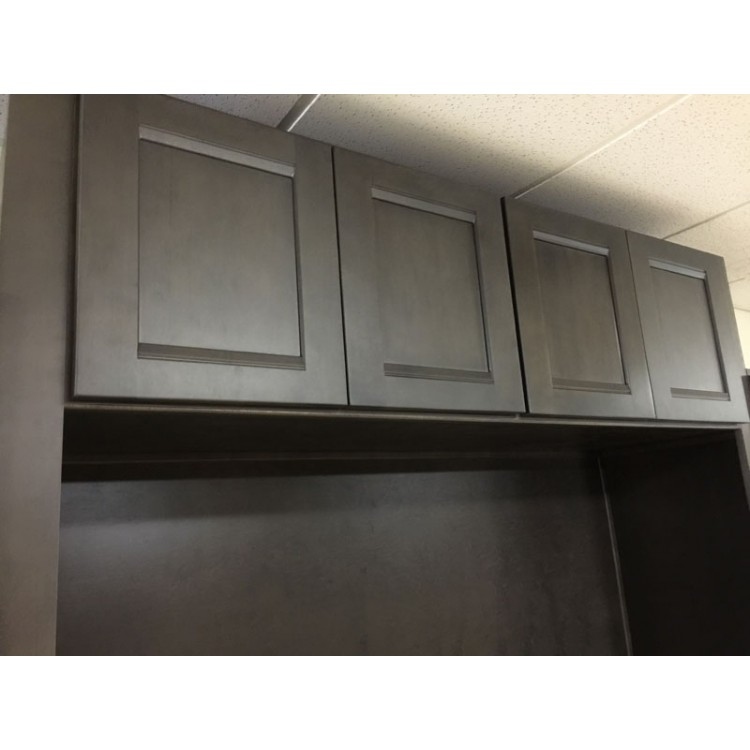12 in vanity drawer base cabinet - Phantom Gray Shaker Gray Cabinets Rta Cabinets Pre Assembled