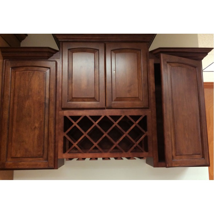 Roman toffee antique cabinets toffee kitchen cabinets for Galley kitchen cabinets for sale