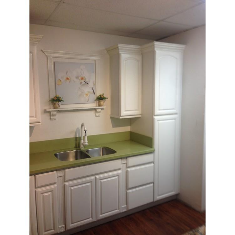 Roman White - White Cabinets - White Kitchen Cabinets - RTA Cabinets
