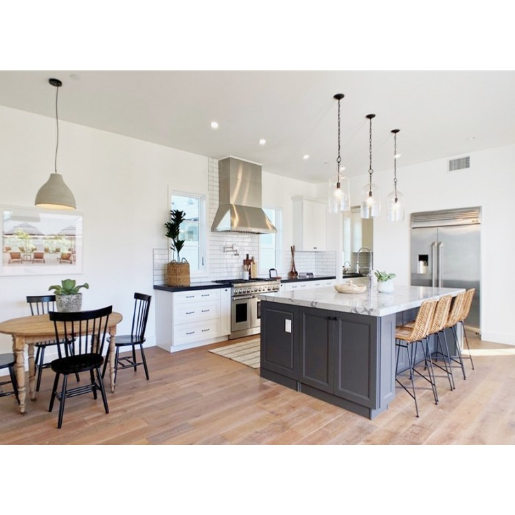 Silver Gray - Modern Cabinets - Gray Kitchen Cabinets ...