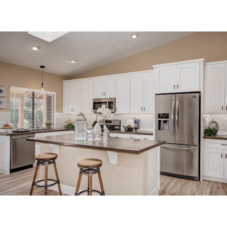 Preassembled Kitchen Cabinets: White Shaker Cabinets