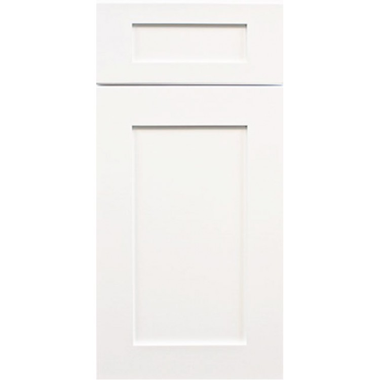 White shaker white shaker cabinets white kitchen for White cabinets