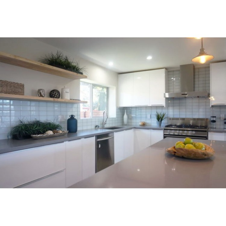 Z serie brilliant white modern cabinets red kitchen for Rta white kitchen cabinets