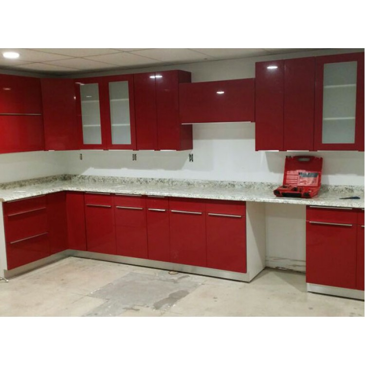 Red Kitchen Cabinets: Red Kitchen Cabinets