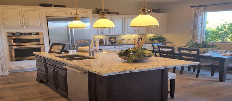 Remodel Your Kitchen with Colored Kitchen Cabinets in 2018