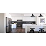 Light and Dark RTA Cabinets Combo - A Contrasting Make Over to Your Kitchen